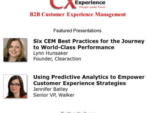 B2B Customer Experience Managment: 6 Success Factors for World-Class Performance